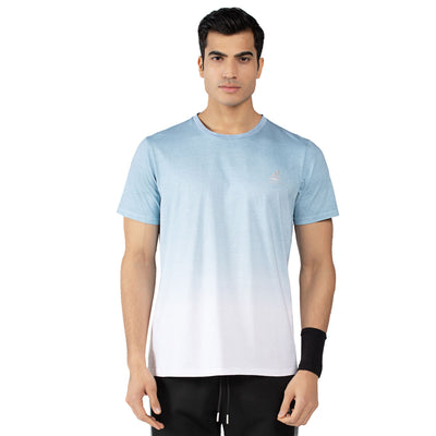 Men's Cotton Short Sleeve Dip-Dyed T-shirts