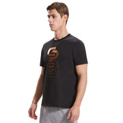 Extreme Pop Mens Short Sleeve T-shirts Organic Cotton Golden Print Tee UK Brand