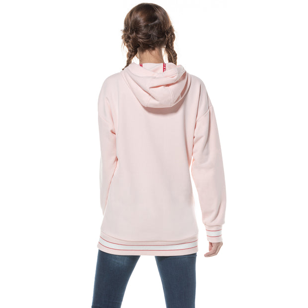 Women'sDrop Shoulder Oversize Hoodie Sweatshirt  S M L XL Pink Black Navy