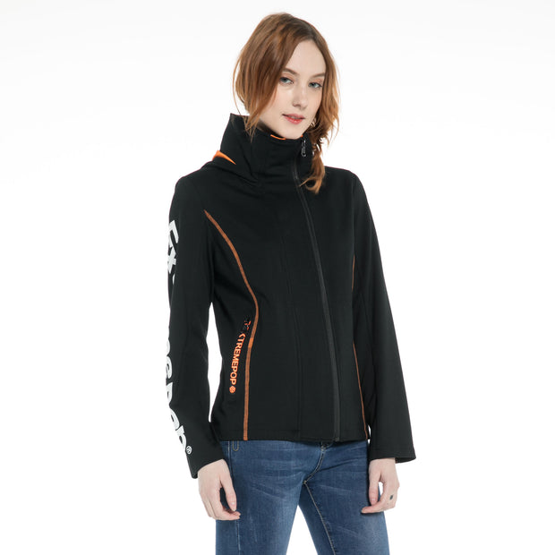 Double placket Zip-through Jacket