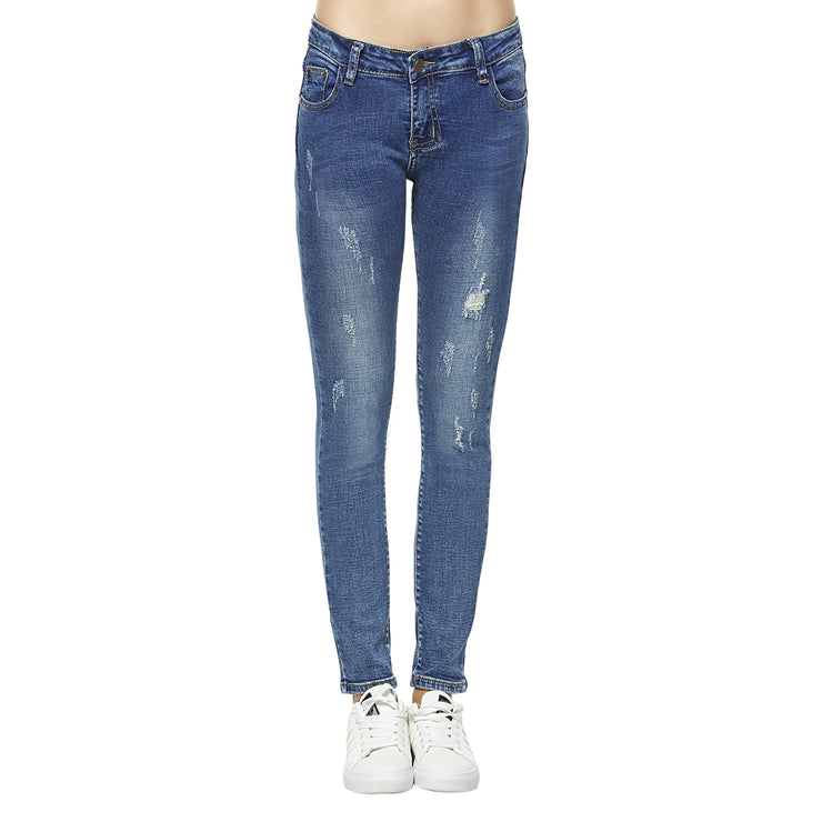 Stretch Skinny distressed Jeans