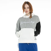 Women's Contrast Colors Hoodie Sweatshirt