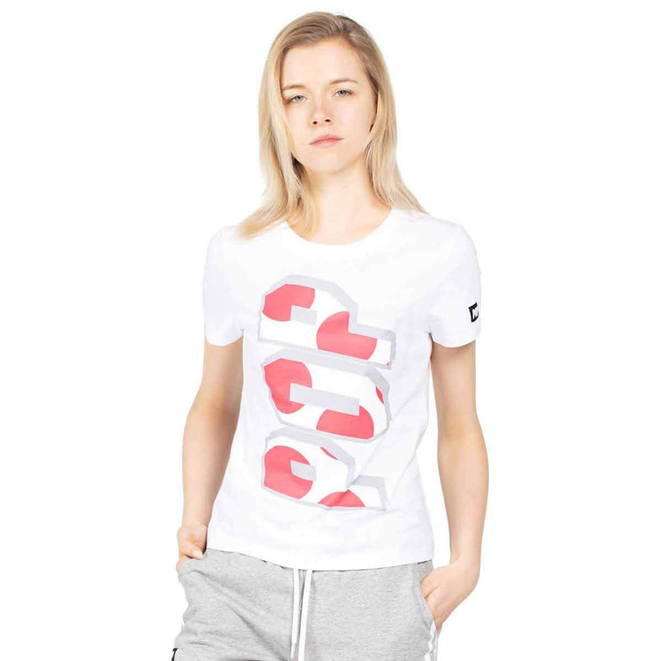 Women's T Shirts Short Sleeve POP Print