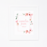 Personalized Art Print | 001