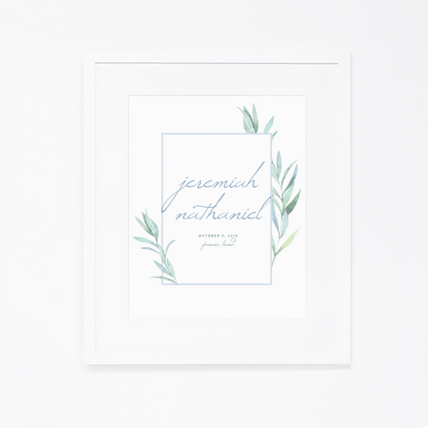 Personalized Art Print | 002
