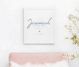 Personalized Art Print | 009