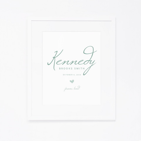 Personalized Art Print | 011