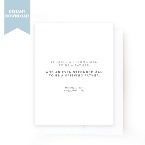 Printable Father's Day Card | No. 02