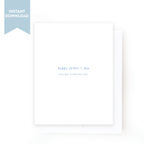 Printable Father's Day Card | No. 03