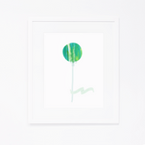 Art Print | Green Balloon