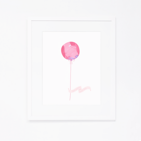 Art Print | Pink Balloon