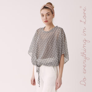 Lightweight Open Knit Crop Top