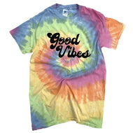 Good Vibes Tie Dye Boutique Tee