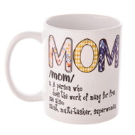 Mom Noun Printed Ceramic Coffee Mug