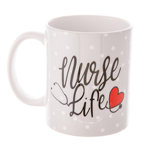 Nurse Life Printed Ceramic Coffee Mug