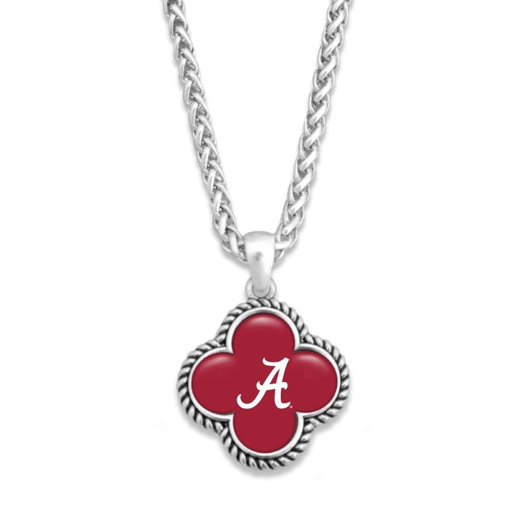 Clover Alabama Silver Necklace