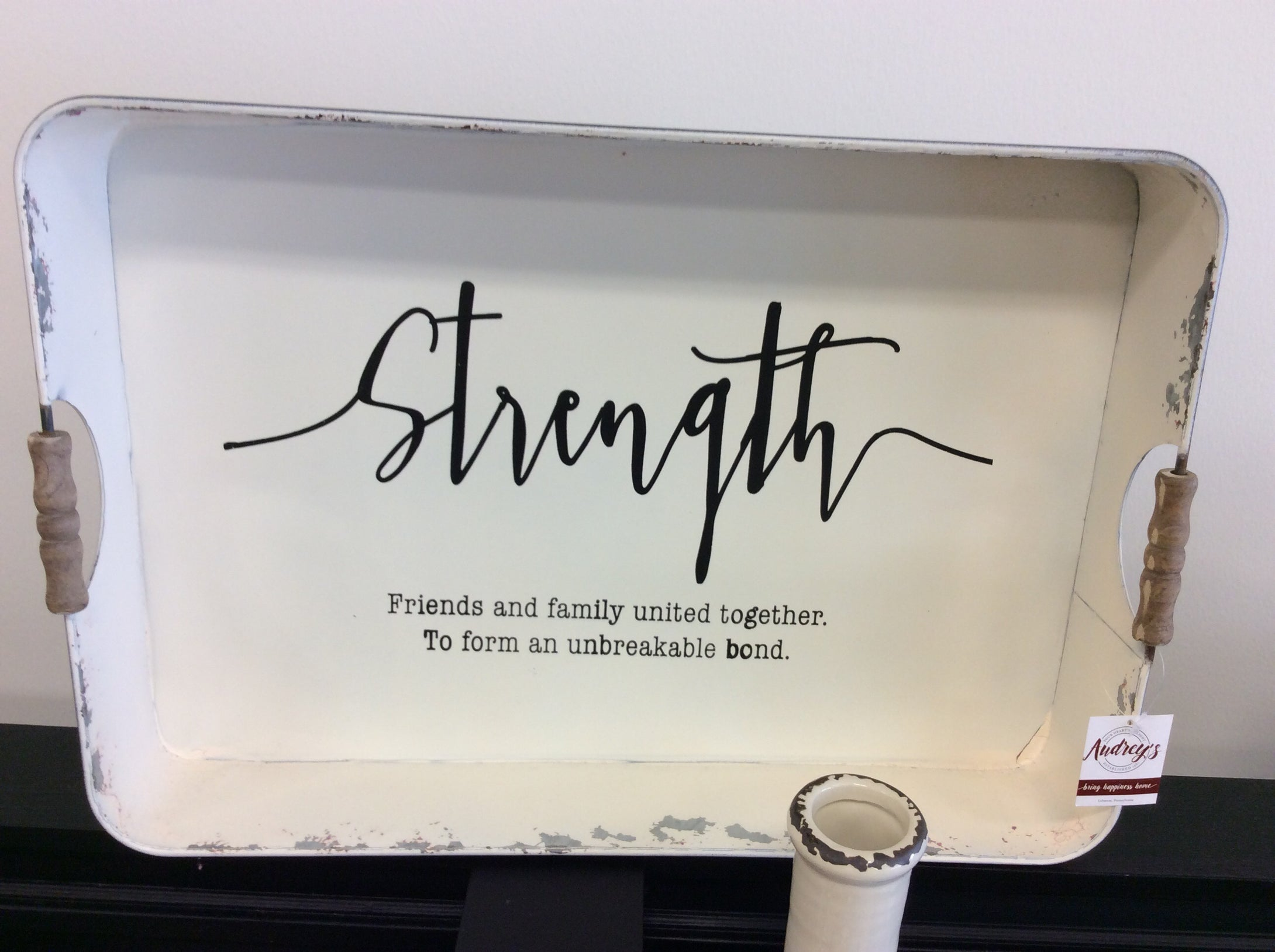 Strength tray