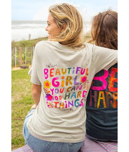 Comfy Tee - Beautiful Girl