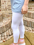 White Butter Leggings