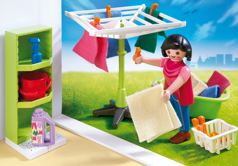 Playmobil 4288 - Stireria e Lavanderia - dai 4 anni in su - Introvabile