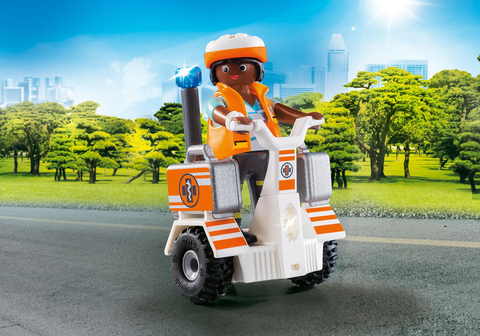 Playmobil City Life 70052 - Balance Scooter Emergenze - dai 5 anni