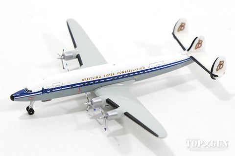 Herpa 523035 -  SCFA / Breitling Lockheed L-1049H Super Constellation 60th Anniversary in vendita da Gioca Joué