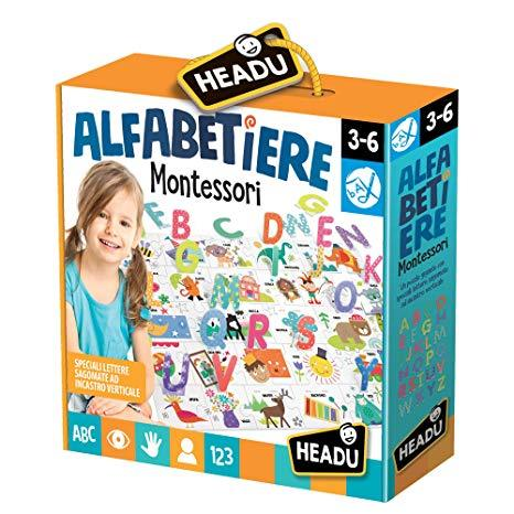 Headu IT20362 - Alfabetiere Montessori in vendita da Gioca Joué