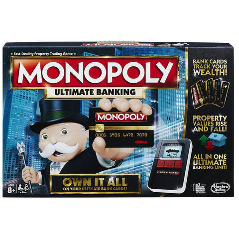 Hasbro B6677 - Monopoly Game: Ultimate banking Edition (ITA) in vendita da Gioca Joué