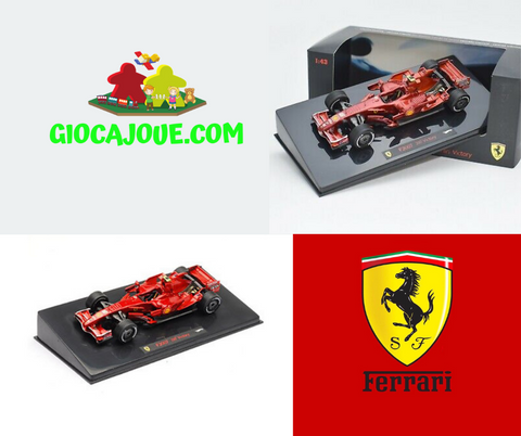 Hot Wheels N5604 - Ferrari F2007 China GP 2007 K.Raikkonen 200 victory 1/43 in vendita da Gioca Joué