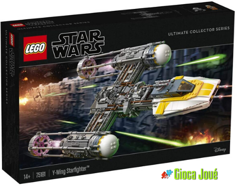Lego 75181 - Star Wars: Y-Wing Starfighter™ in vendita da Gioca Joué