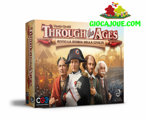 CC041 - Through the Ages (versione italiana) in vendita da Gioca Joué