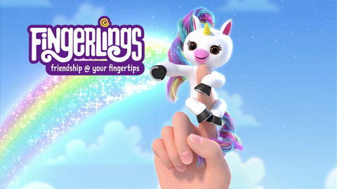 WowWee - Fingerlings Baby Unicorno Gigi