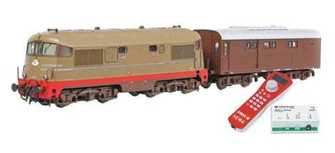 ACME 70047 - Set Digitale con FS D.342.4015 e carro riscaldo con DCC 'Smoke'