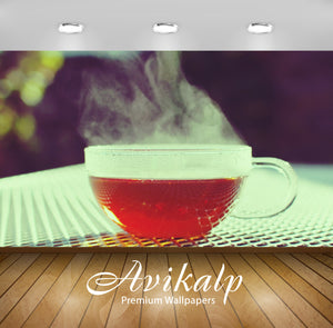 Avikalp Exclusive A Cup Of Tea AWI1061 HD Wallpapers for Living room, Hall, Kids Room, Kitchen, TV B