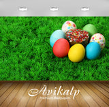 Avikalp Exclusive Artistic Egg AWI1073 HD Wallpapers for Living room, Hall, Kids Room, Kitchen, TV B