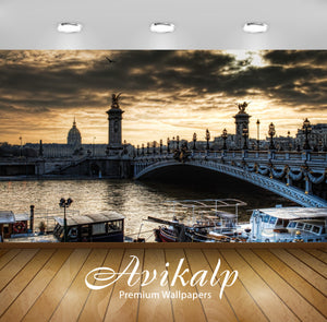 Avikalp Exclusive Bridge London AWI1096 HD Wallpapers for Living room, Hall, Kids Room, Kitchen, TV
