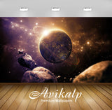 Avikalp Exclusive Earth Planet AWI1119 HD Wallpapers for Living room, Hall, Kids Room, Kitchen, TV B