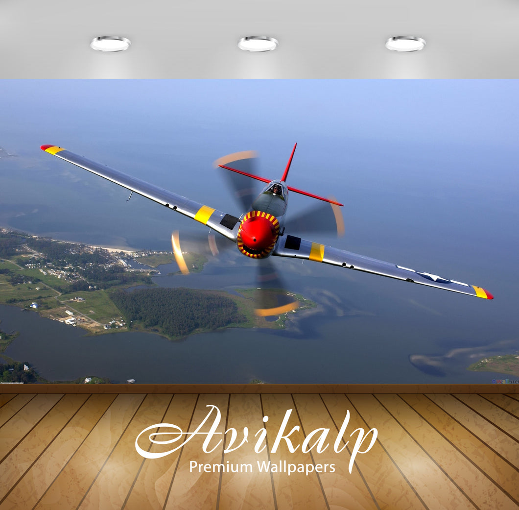 Avikalp Exclusive Fly High AWI1130 HD Wallpapers for Living room, Hall, Kids Room, Kitchen, TV Backg