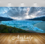Avikalp Exclusive Melting Ice River AWI1158 HD Wallpapers for Living room, Hall, Kids Room, Kitchen,