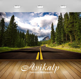 Avikalp Exclusive Road AWI1183 HD Wallpapers for Living room, Hall, Kids Room, Kitchen, TV Backgroun