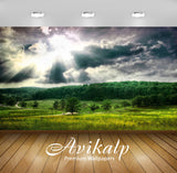 Avikalp Exclusive Scenery Nature Greenery AWI1193 HD Wallpapers for Living room, Hall, Kids Room, Ki