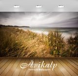 Avikalp Exclusive Sea Shore Grains AWI1204 HD Wallpapers for Living room, Hall, Kids Room, Kitchen,