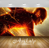 Avikalp Exclusive The Flash 2 AWI1230 HD Wallpapers for Living room, Hall, Kids Room, Kitchen, TV Ba
