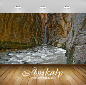Avikalp Exclusive Awi1265 River Full HD Wallpapers for Living room, Hall, Kids Room, Kitchen, TV Bac