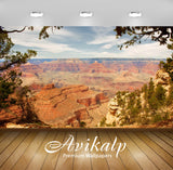 Avikalp Exclusive Awi1329 Beautiful Canyon Full HD Wallpapers for Living room, Hall, Kids Room, Kitc
