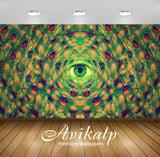 Avikalp Exclusive Awi1339 Amazing Eye Abstract Full HD Wallpapers for Living room, Hall, Kids Room,