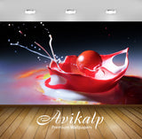 Avikalp Exclusive Awi1340 Color Splash Full HD Wallpapers for Living room, Hall, Kids Room, Kitchen,