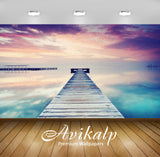 Avikalp Exclusive Awi1341 Sea View Bridge Full HD Wallpapers for Living room, Hall, Kids Room, Kitch