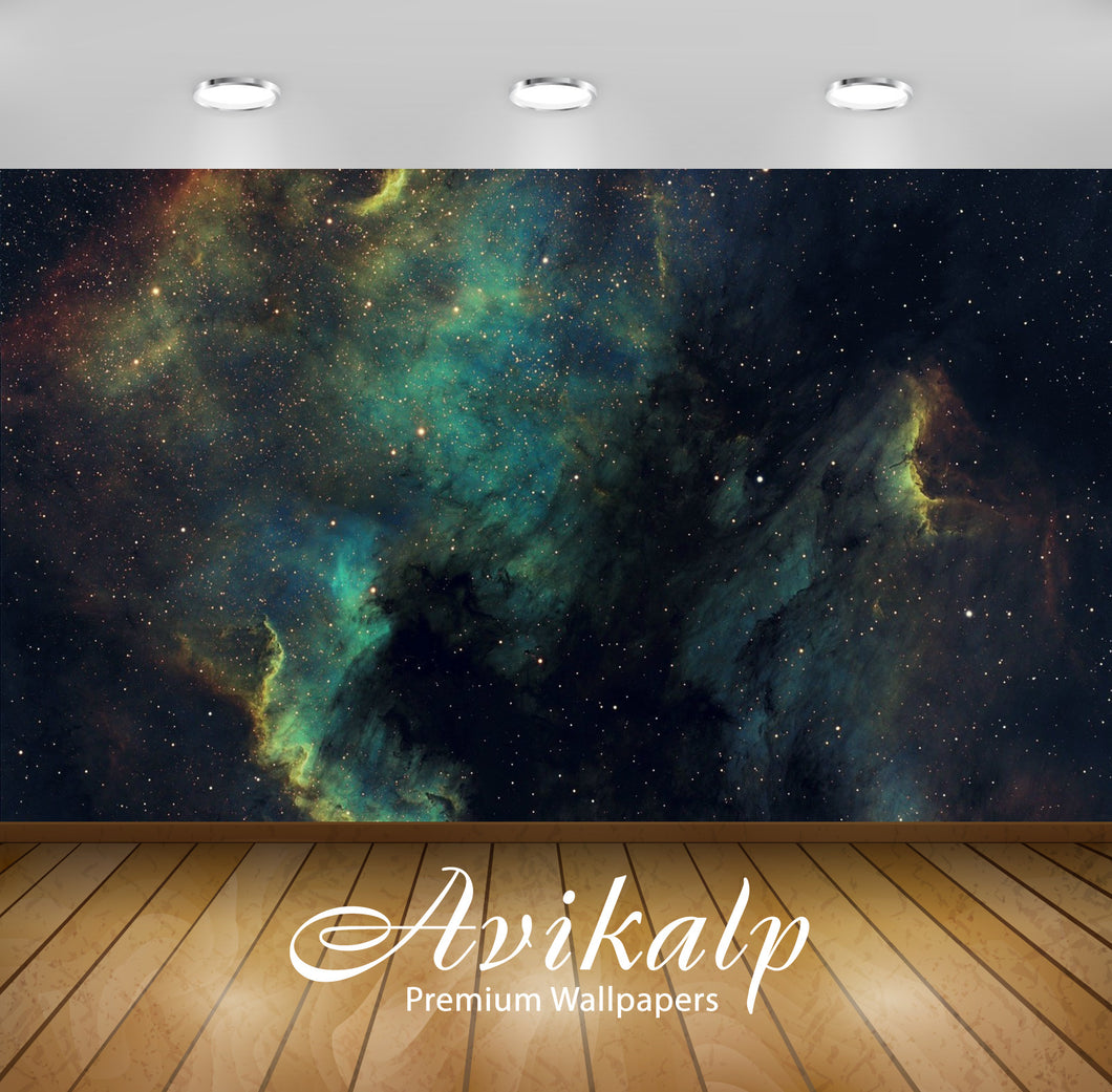 Avikalp Exclusive Awi1351 Deep Sky View Full HD Wallpapers for Living room, Hall, Kids Room, Kitchen