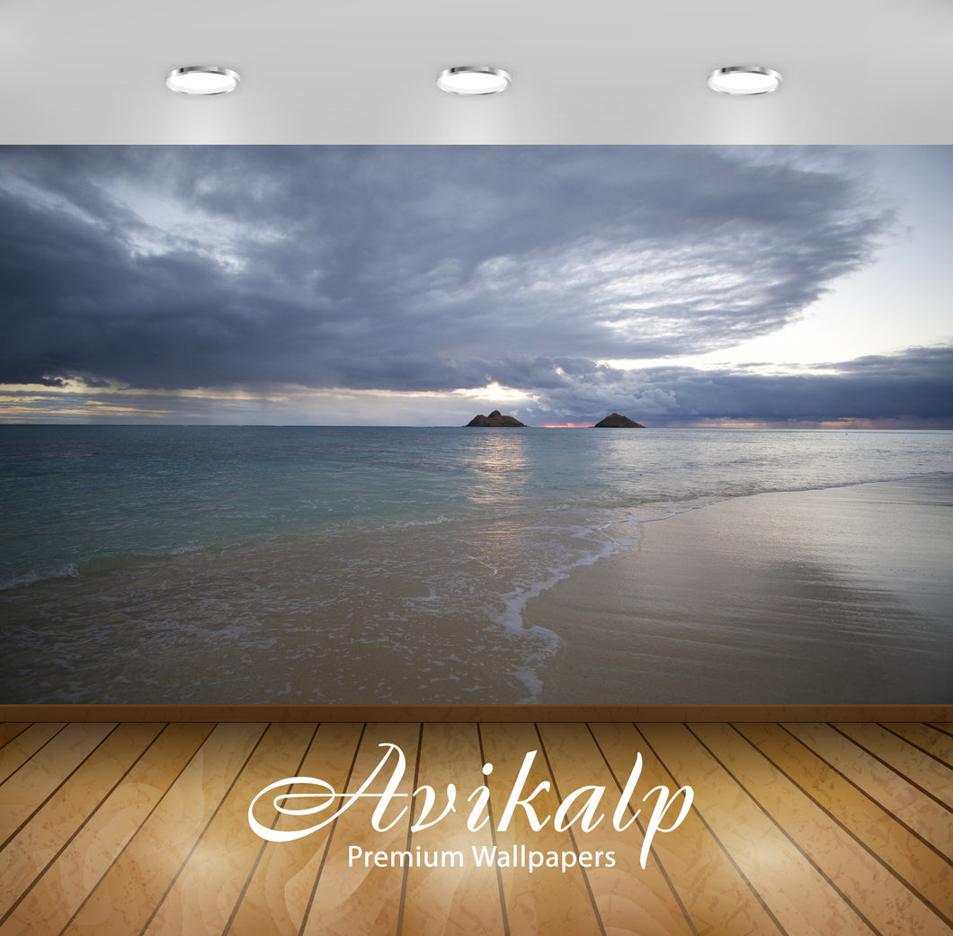Avikalp Exclusive Premium hawaii HD Wallpapers for Living room, Hall, Kids Room, Kitchen, TV Backgro